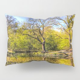 The Tranquil Pond Pillow Sham