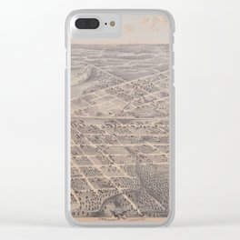 Dallas 1872 Clear iPhone Case