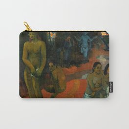"""Paul Gauguin """"Te Pape Nave Nave (Delectable Waters)"""" Carry-All Pouch"""
