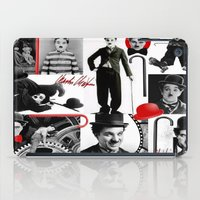 charlie iPad Cases featuring CHARLIE by BLUE VELVET DESIGNS