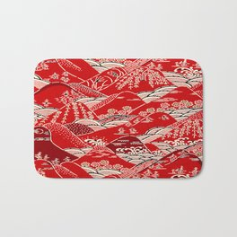 Red Mountains Bath Mat