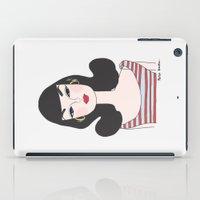 barbie iPad Cases featuring Retro barbie by uzualsunday