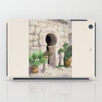 arab iPad Cases featuring Arab Baths Palma de Mallorca DP151029b-14 by CSteenArt
