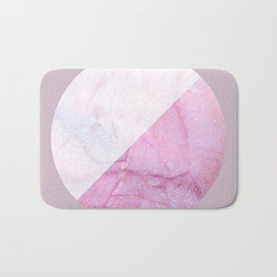 Rose Quartz Marble Bath Mat