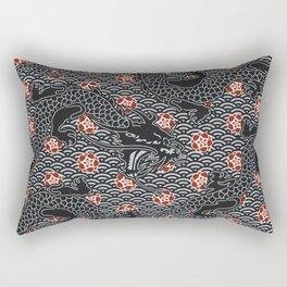 Hidden Dragon / Oriental dragon design Rectangular Pillow