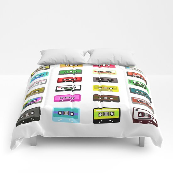 Cassete pattern Comforters