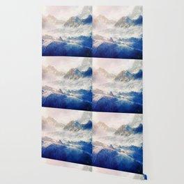 Mountain Winter Dream Wallpaper