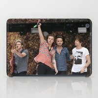 one direction iPad Cases featuring One Direction by behindthenoise