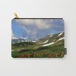 High Alpine Meadows Carry-All Pouch