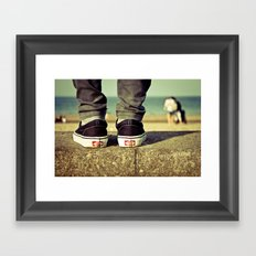 vans II. Framed Art Print