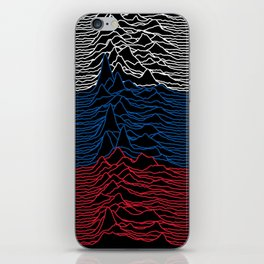 Joy Division - Unknown Russian Pleasures iPhone Skin