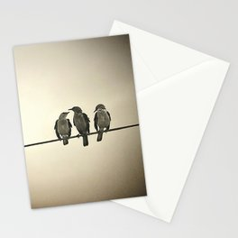 Three Little Birds Stationery Cards