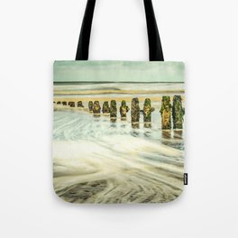Wave Breaks Tote Bag