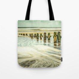 Wave Breaks Tote Bag