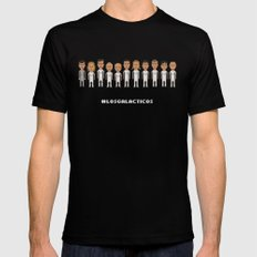 Los Galacticos Mens Fitted Tee Black SMALL