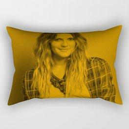Drew Barrymore - Celebrity Rectangular Pillow