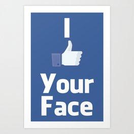 Your Face Art Print