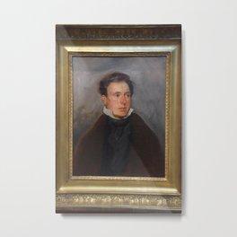 Eugne Delacroix - Portrait de Thals Fielding Metal Print