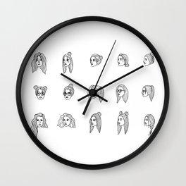 indecisiveness Wall Clock