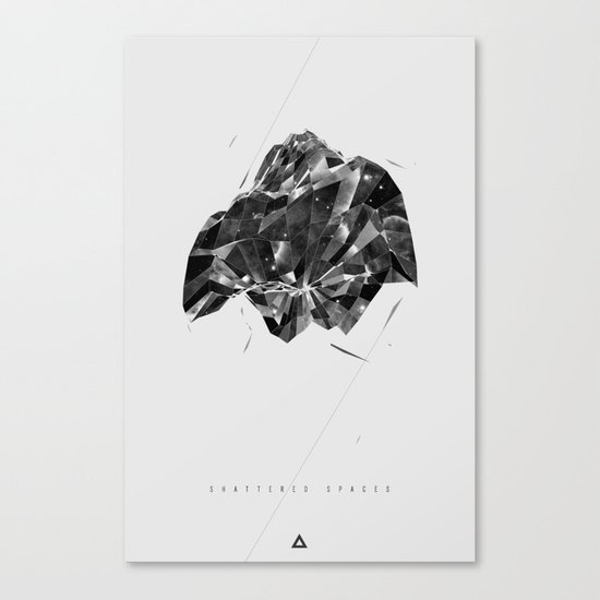 Shattered Spaces Canvas Print