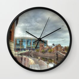 Barclaycard Arena and the Malt House Pub Wall Clock