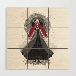 Morena - Slavic Goddess of winter and rebirth of nature Wood Wall Art