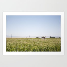 Central Valley Art Print