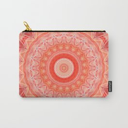 Mandala soft orange 3 Carry-All Pouch