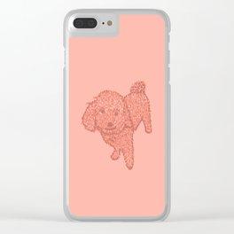 furry best friend Clear iPhone Case
