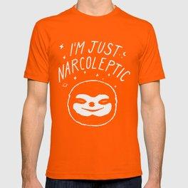 I'm Just Narcoleptic (Dark) T-shirt