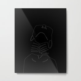 Invisible Demons Metal Print