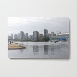 False Creek Vancouver Metal Print