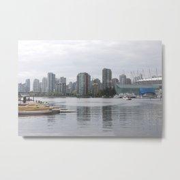 False Creek Vancouver Metal Print