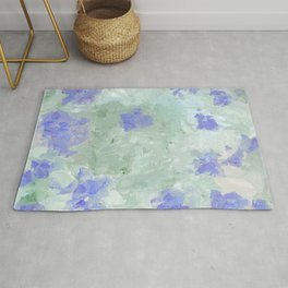 Abstract Floral 2 Rug