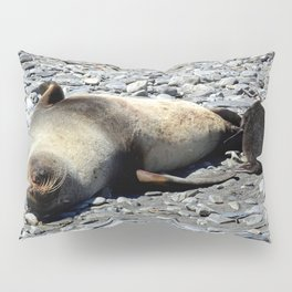 Mother Fur Seal and Pup Pillow Sham