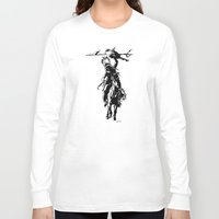 indian Long Sleeve T-shirts featuring Indian by ARTito