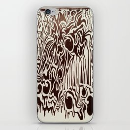 Fire in the City Ink Doodle iPhone Skin