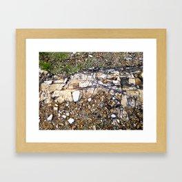 BH Natural Rock Art 2 Framed Art Print