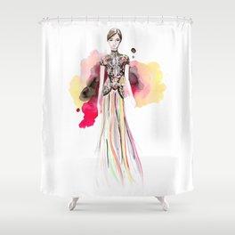 Marchesa Fall Shower Curtain