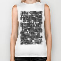 camo Biker Tanks featuring Urban Camo by Dood_L