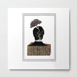 Bside Head Metal Print