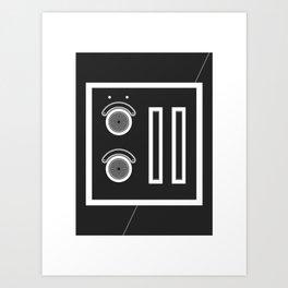 Attenzioni. Venice Series. Citofono 11 Art Print