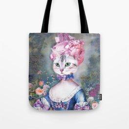 Marie Antoinette Kitty Tote Bag
