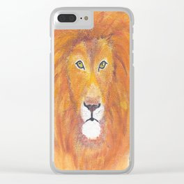 The Great Lion Clear iPhone Case