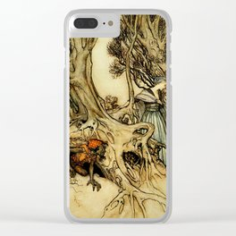 Followed Clear iPhone Case