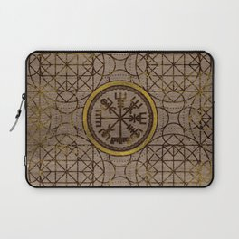 Vegvisir. The Magic Navigation Viking Compass Laptop Sleeve
