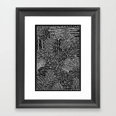 This way, that way Framed Art Print