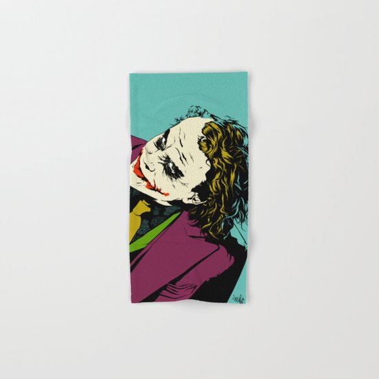 Joker So Serious Hand & Bath Towel