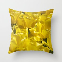 Darwin Hybrid Tulips Throw Pillow