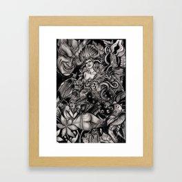 Line of Servants Framed Art Print